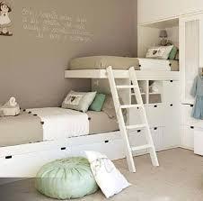 chambre enfant lit superposé lit superpose original pour fille chambre pour deux enfants