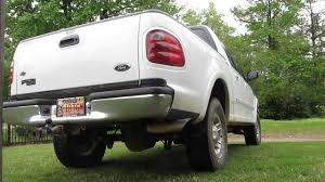 1997 ford f150 exhaust system 2002 ford f150 5 4 pipe loud exhaust