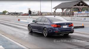 first video of a 2018 bmw m550ix in the 1 4 12 3 115 mph