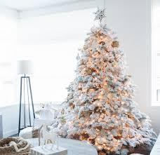 flocked christmas tree flocking a christmas tree happy happy nester