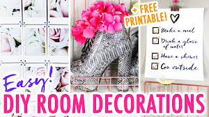 New Year House Decoration Ideas by 3 Easy Diy Room Decor Ideas Redesign Your Room For The New Year