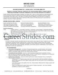 Qa Analyst Resume Sample Business Systems Analyst Resume Template Learnhowtoloseweight Net