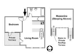 new york apartment floor plans new york apartment 1 bedroom loft apartment rental in