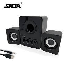pc bureau multimedia usb multimédia stéréo ordinateur haut parleurs 2 1 pour pc de
