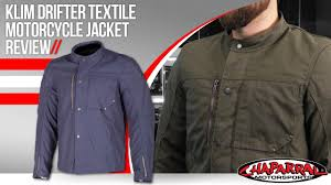 textile motorcycle jacket klim drifter textile motorcycle jacket review youtube