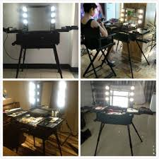 makeup artist station online shop professional 4 wheels rolling makeup artist cosmetic