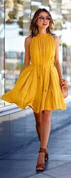 yellow dress best 25 yellow summer dresses ideas on yellow dress