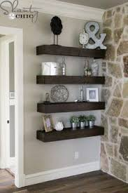 Floating Wood Shelves Diy by Diy Wood Shelves Diy Wood Shelves Wood Shelf And Diy Wood