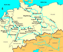 map of europe and russia rivers map of europe with cities and rivers major tourist