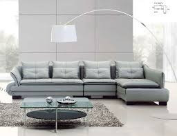 furniture modern living room sofa with white fabric armless of