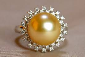 pearl rings diamonds images Lecollier rakuten global market supreme excellence gold south jpg