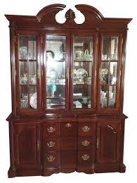 dark wood china cabinet dark cherry wood china cabinet traditional china cabinets and cherry