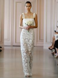 oscar de la renta lace wedding dress bridal 2016 designer wedding dresses by oscar de la renta