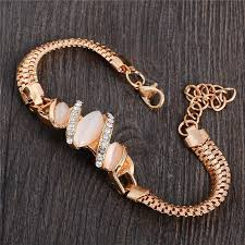 fashion stone bracelet images High quality austrian crystal cat eye stone bracelet charm fashion jpg