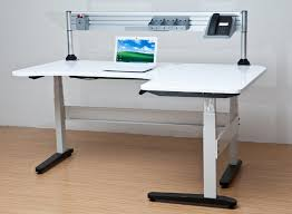 realspace magellan height adjustable desk realspace magellan performance electric height adjustable wood in