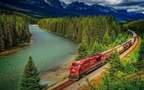 longest train passes from jungle amazing wallpapers hd