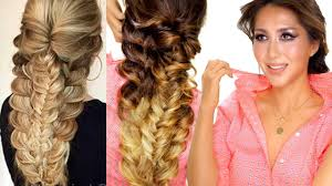 Easy Dressy Hairstyles For Long Hair by Easy Topsy Braid Hairstyle Everyday Hairstyles Prom