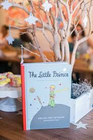 the little prince themed baby shower the little umbrella