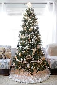 white tree skirt see how to diy your own christmas tree skirt tree skirts diy
