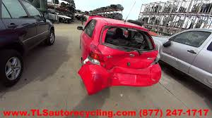 parting out 2010 toyota yaris stock 6049pr tls auto recycling