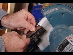 Sharpening Wheel For Bench Grinder Bench Grinder Basics Youtube