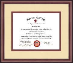 college diploma frame boston college diploma frame talking walls