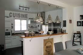 cuisine avec bar am駻icain maison avec cuisine ouverte idées décoration intérieure farik us