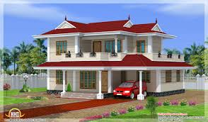bhk double storey house design indian home decor building plans