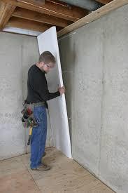 how to insulate a basement wall greenbuildingadvisor insulation