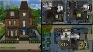 gothic mansion floor plans the sims 4 gallery spotlight simsvip page 3