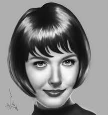 beautiful portrait drawings drawing of beautiful portrait of