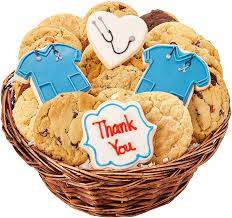 thank you basket thank you cookie basket