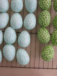 Paper Mache Easter Decorations by 48 Best Easter Eggs Decoupage Images On Pinterest Easter