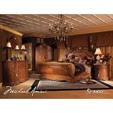 discount full size bedroom sets bedroom michael amini 5pc villa valencia kingize canopy poster