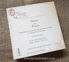 fairytale once upon a time wedding invites and stationery