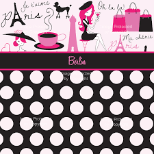 Polka Dot Bed Sets by Paris Themed Pink And Black Bedding Set Girls Pink And White