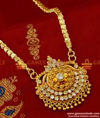 south indian jewellery imiation ad dollar with chain buy