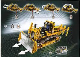 lego motorized bulldozer instructions 8275 technic