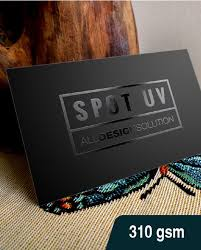 spot uv name card 310 gsm printing malaysia all design solution