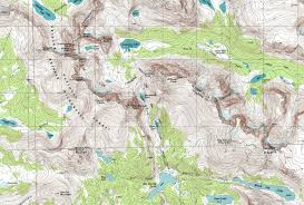 Smith Mountain Lake Fishing Map Brochures And Maps For Pinedale And Sublette County Wyoming