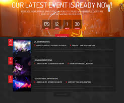 30 stunning music html5 templates for clubs events