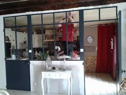 verriere interieur cuisine verrires d 39 intrieur en bois creation verriere interieur bahbe com