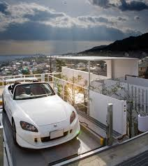 Modern Hill House Designs Architecture Modern Hill House In Japan Curb Facade Wiht Two