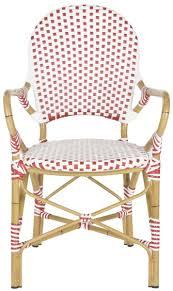 European Bistro Chair Set Of Two Riviera Hooper Indoor Outdoor Stacking Armchairs In