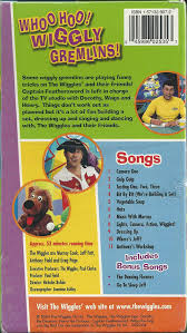 amazon com the wiggles whoo hoo wiggly gremlins vhs tape