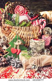 christmas gift basket stock images royalty free images u0026 vectors