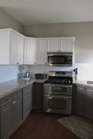 where to place knobs on kitchen cabinets painted kitchen cabinets and backsplash slipcovers by shelley