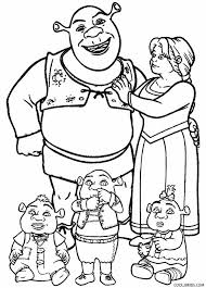 printable shrek coloring pages kids cool2bkids