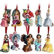 limited edition 2011 disney princess ornament set 10 pc