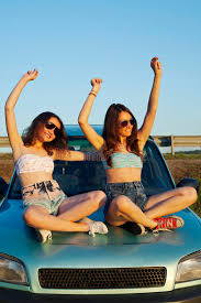 travel girls images Travel girls stock image image of denim highway beautiful jpg